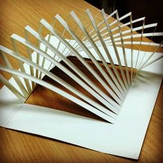 Trabajo Folding Architecture, Concept Models Architecture, Futuristic Architecture, Architecture Design, Tropical Architecture, Kirigami, Origami Paper Art, Paper Crafts, Casa Bunker