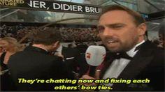 Fassbender and Cumberbatch  :D