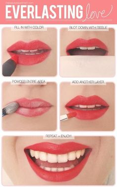 Everlasting lipstick