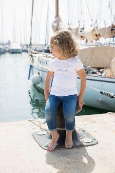 Love Adrienne//Primavera-Verano 17// Spring-Summer 17. Colección camisetas #minime. Camiseta para niña  diseño de cara de gato. Disponible igual para mujer.