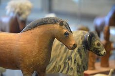 wooden animals from Iceland