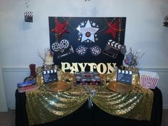 Red Carpet Hollywood Theme Party | Hollywood/Red Carpet Themed Birthday Party Coordinated & Designed by ...