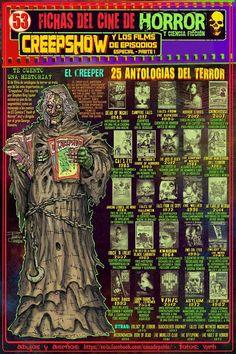 FICHA Nº 53. ESPECIAL CREEPSHOW Y OTROS FILMS DE EPISODIOS. PARTE 1.