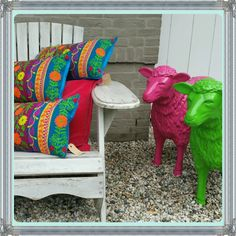 Colourfull#waiting for the sunshine#accessoires In-and outdoor# WoonStylEs #
