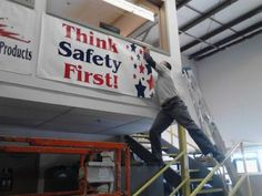 think safety first...