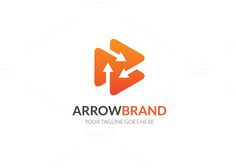 Arrow Brand Logo by @Graphicsauthor
