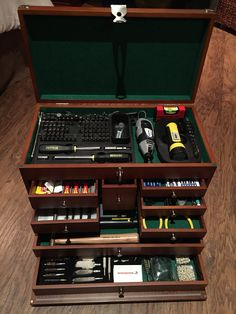 Gunsmithing tool box.