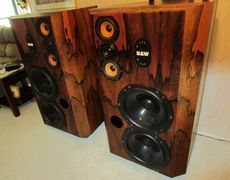 EXTREMELY RARE B&W 808 Series 80 Speakers Vintage Bowers and Wilkins ROSEWOOD Photo #829840 - Canuck Audio Mart