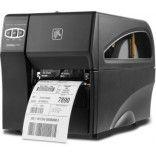 Zebra Direct Thermal Monochrome Label Printer Serial USB Ethernet Z