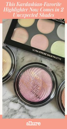 Back in May of last year, Khloe Kardashian revealed her love of the $6 Makeup Revolution Vivid Baked Highlighter on her website. Her makeup artist Joyce Bonelli swept it onto Kardashian's face for a late-night show appearance, and she became obsessed with the champagne shade called Radiant Lights.