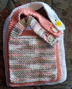 Simple Baby Bib - Free Pattern
