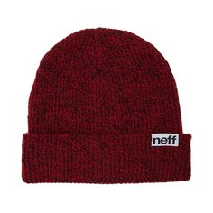 Put a stylish cap on that cranium with the Daily Fold Beanie from Neff! Keep your head warm and toasty with the Daily Fold Beanie, rocking a cuffable, two tone, rib-knit design with Neff logo flag.