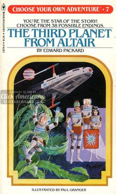 Choose your own Adventure book series (1979-1981) - Click Americana