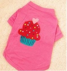 Cupcake dog tee-shirt! Aww Daisy has this! Too cute!
