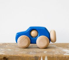 4x4 Car wooden toy