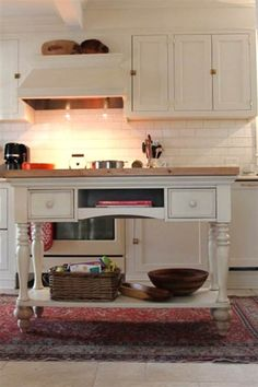 Add extra counter space with these 5 D-I-Y kitchen islands