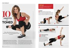 SHAPE Magazine Spread | Jillian Michaels BODYSHRED