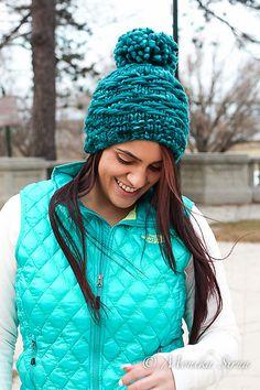 Ravelry: Pogonip Hat pattern by Monika Sirna (in Malabrigo Rasta)