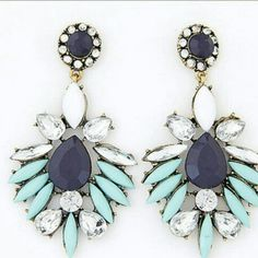 Colorful vintage earrings Cute and fun! Definitely make a statement wearing these Jewelry Earrings
