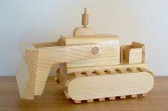 Large Bulldozer by TheToyBoxbyVinny on Etsy