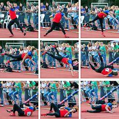 Javelin thrower, the Netherlands