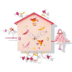 horloge murale #alabonheur #oiseaubateau
