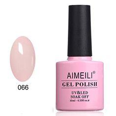 AIMEILI Soak Off UV LED Gel Nail Polish Neon Glow In The ...
