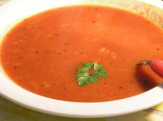 Croatian Simple Tomato Soup