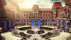 Palace hub Minecraft Project