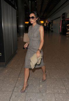 Victoria Beckham Dresses Grey