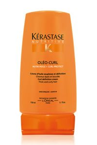 Crème Oleo Curl Styling Cream - Treatment Products Thick Curly Hair Styles - Kerastase