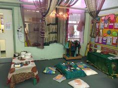 Diwali role play #eyfs #understandingoftheworld School Sets, Pre School, Diwali Eyfs, Diwali Fireworks, Diwali Activities, Holidays Around The World, Corner House, Book Corners, World Crafts