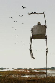 Marshland Crows by GorosArt.deviantart.com on @deviantART