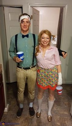 Jack & Jill Couples Costume - Halloween Costume Contest via @costume_works