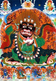 #Buddhism · The Short Daily Practice of #Mahakala — by Khenpo Karsang Tenzin