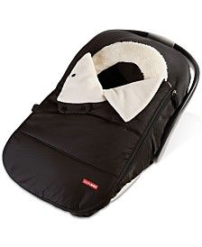 Skip Hop Mainframe Wide Open Diaper Backpack & Reviews - All Kids' Accessories - Kids - Macy's Winter Car Seat Cover, Baby Carrier Cover, Cozy Cover, Go Car, Car Seat Accessories, Diaper Backpack, Diaper Bag, Baby Comforter, Baby Warmer
