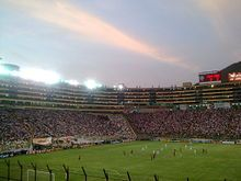 Estadio Monumental U #Stadium in #Lima #Peru