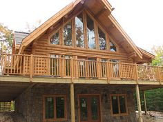 1000 images about house plans on pinterest basements for Log cabin with walkout basement