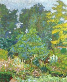 The Garden of Vernon, Pierre Bonnard (1927)