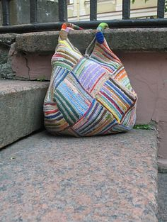 Scrap yarn idea...