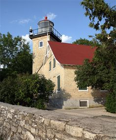 Eagle bluff lighthouse Door County WI