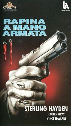 The Killing (1956) (Stanley Kubrick) (Italian Cover Art)
