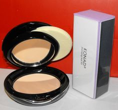 Micabella Mineral Makeup Pressed Foundation 12 Gr Full Size Pick Your Color+konad Nail Buffer for Shiny Nails. PRESSED FOUNDATION 12GR+KONAD NAIL BUFFER.