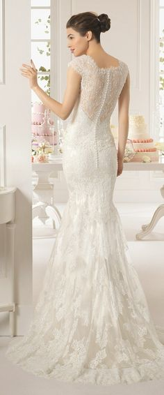Aire Barcelona 2015 Bridal Collection - Part 2 - Belle The Magazine