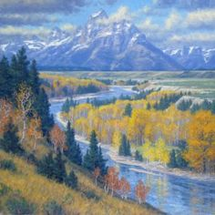 Majesty of the Tetons by Randy Van Beek
