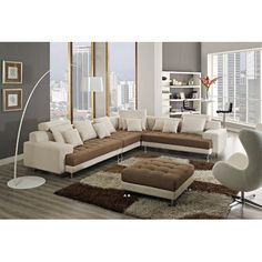 CREATIVE FURNITURE Amanda Right Facing Chaise Sectional - http://sectionalsofaspot.com/creative-furniture-amanda-right-facing-chaise-sectional-538530156/