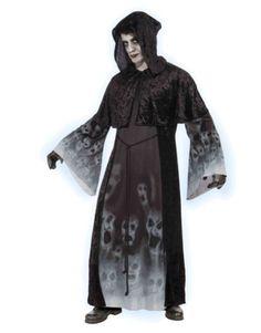 Adults Mens Death Grim Reaper Forgotten Souls Skull Robe Costume Size Large 42 #skulls #halloween more at http://skullclothing.net