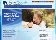 Perry County Job and Family Services    Designed by: WebChick.com