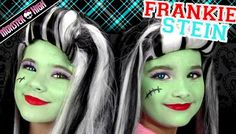 rankie Stein Monster High Costume Makeup