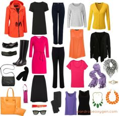 what to wear to europe spring capsule wardrobe